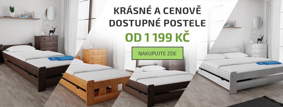 Cenově dostupné postele