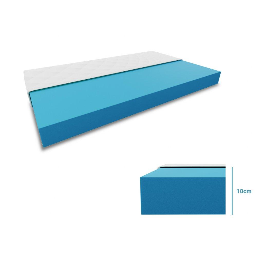 Pěnová matrace Economy 120 x 200 cm
