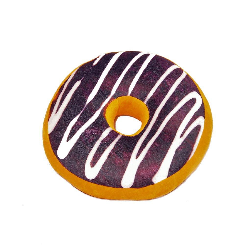 Dekorační polštářek Donut s polevou