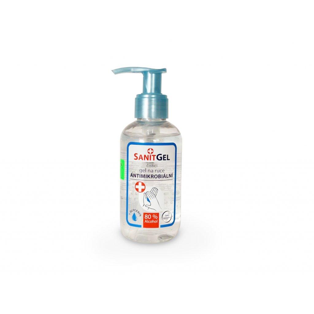 SANITGEL Čistící gel na ruce antimikrobiální 150 ml