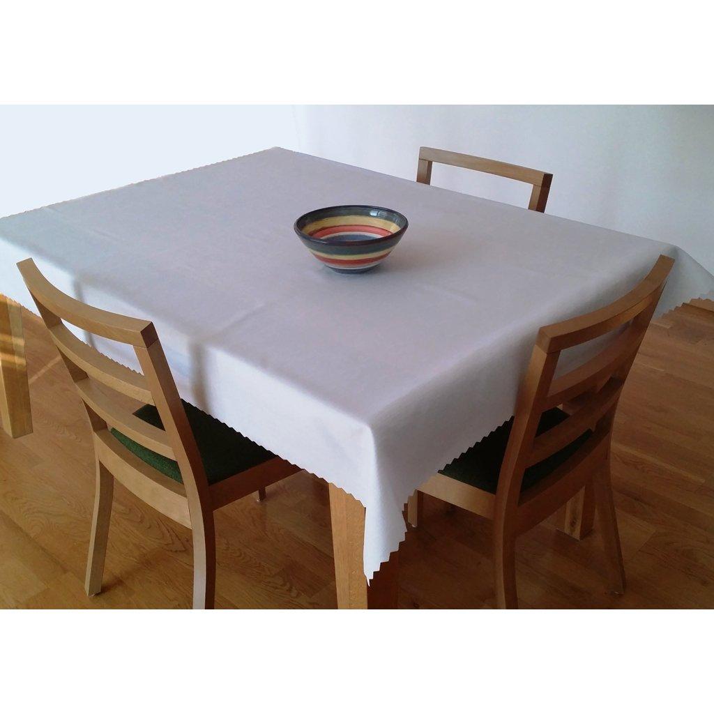 Teflonový ubrus 140x120 cm bílý