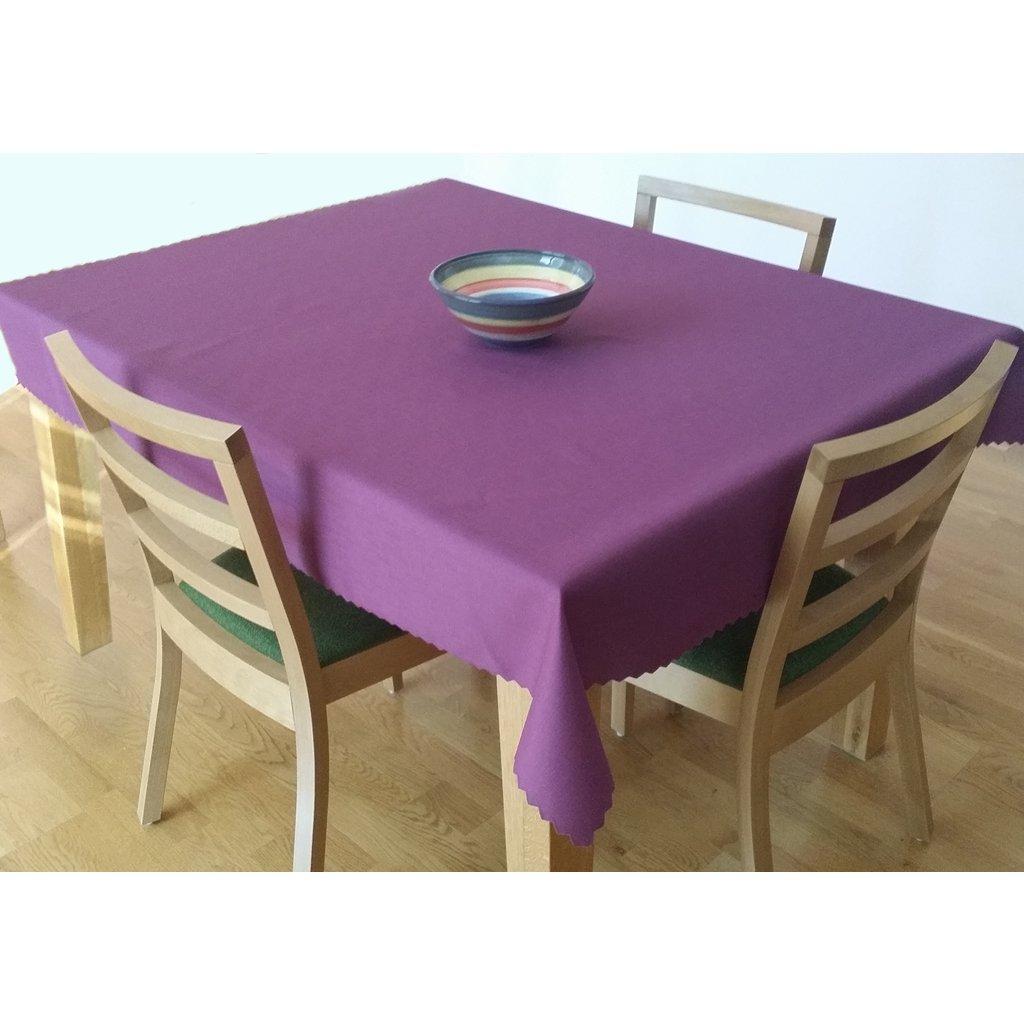 Teflonový ubrus 140x120 cm fialový