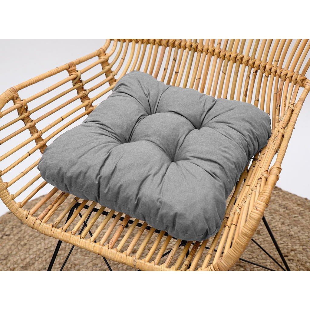 Sedák na židli Soft šedý