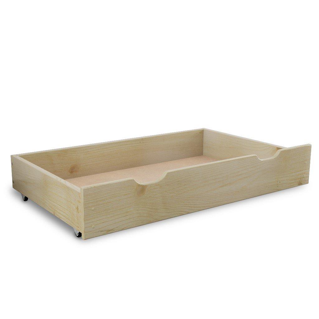 Uložný box pod postel 150 cm borovice