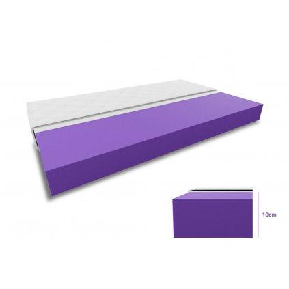 Pěnová matrace 1+1 DELUXE 2 ks 90 x 200 cm