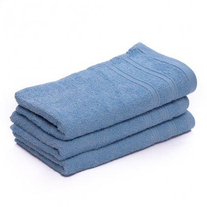 Ručník malý dětský 30 x 50 cm pro hosty bavlněný modrý