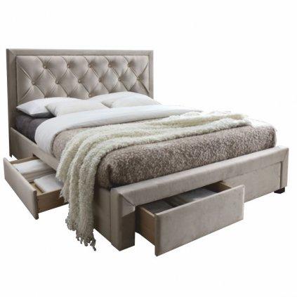 14240 manzelska postel orea 160x200 sedohneda