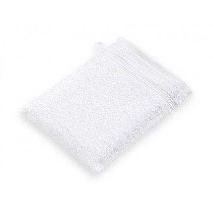 Žínka mycí bavlněná dětská bílá