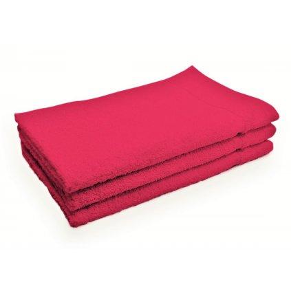 Ručník Classic malý purpurový 30x50 cm