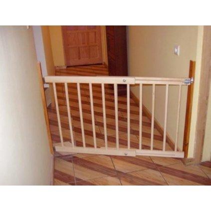 Zábrana na dveře, schody