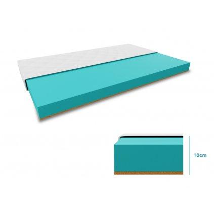 Dětská matrace COCO 10 cm 80x160 cm