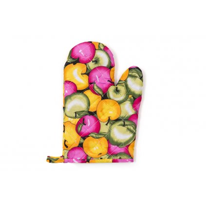 Kuchyňská chňapka Jablíčka barevná
