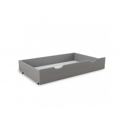 Úložný box pod postel 98 cm, šedá