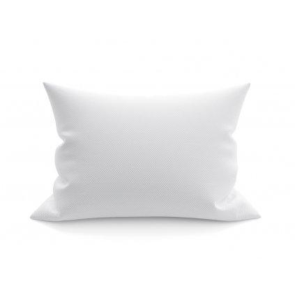 Povlak na polštář 70x90 cm ATG bílé kostičky