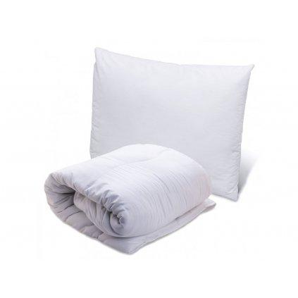 Luxusní přikrývka prošívaná s polštářem
