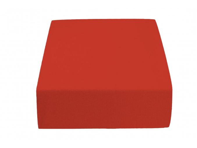 Jersey atypické červené (Rozměr 200 x 220)