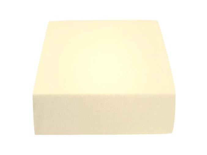 Jersey atypické krémové (Rozměr 200 x 220)