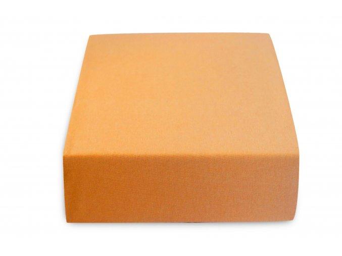 Jersey atypické meruňkové (Rozměr 200 x 220)