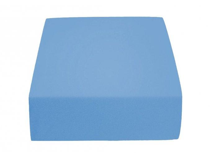 Jersey atypické světle modré (Rozměr 200 x 220)