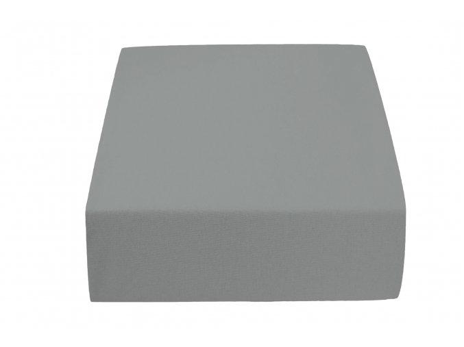 Jersey atypické šedé (Rozměr 200 x 220)