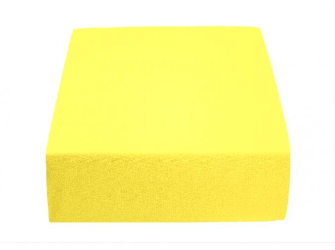 Jersey atypické žluté (Rozměr 200 x 220)