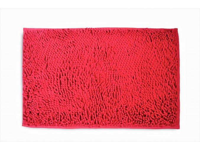 Koupelnová přednožka hotelová rohožka bavlněná mikrovlákno žinylková lososová růžová oranžová