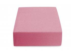 Jersey atypické růžové (Rozměr 200 x 220)
