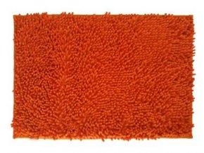 Koupelnová předložka oranžová