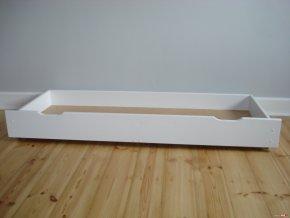 12377 zvyseny ulozny box pod postel 150 cm bila