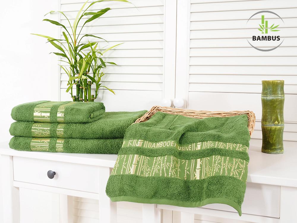 Bambusové osušky a ručníky