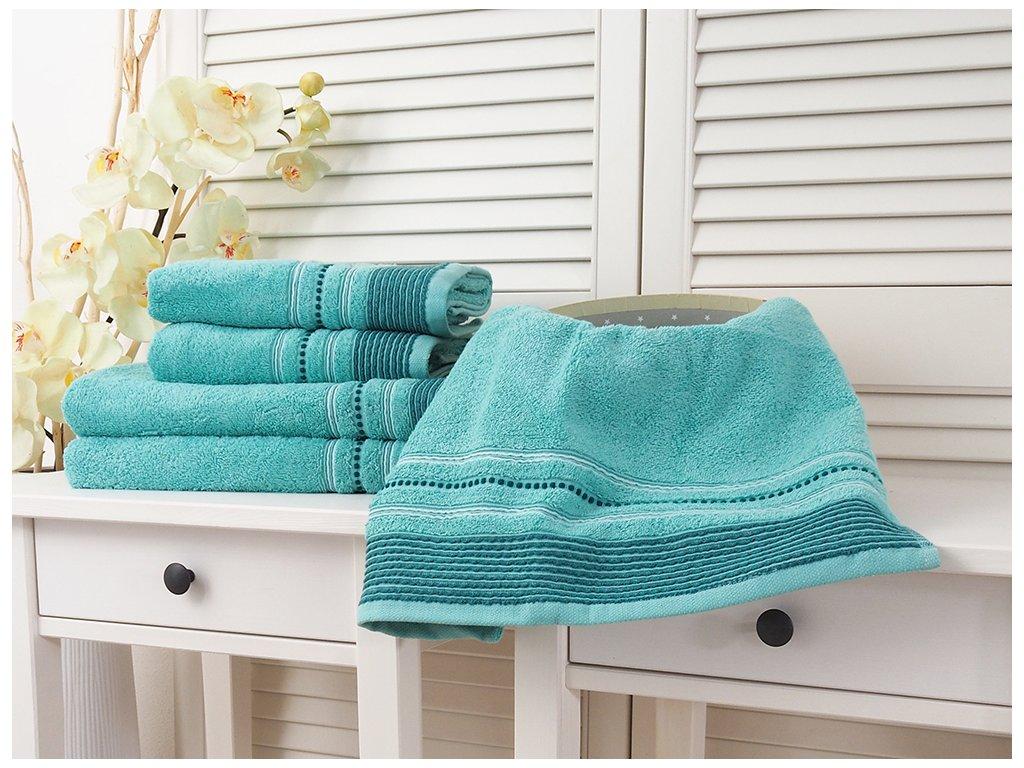 Bavlněný froté ručník 50x90 Fabio - Aruba