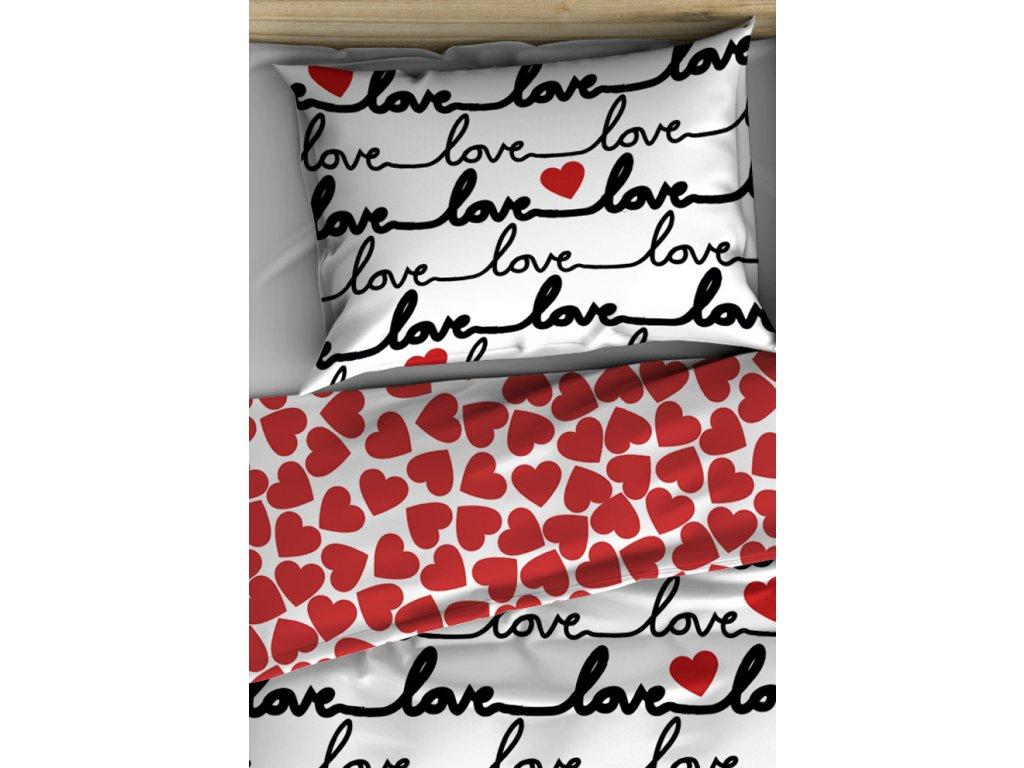 Bavlnene povleceni Love VAL183003 double