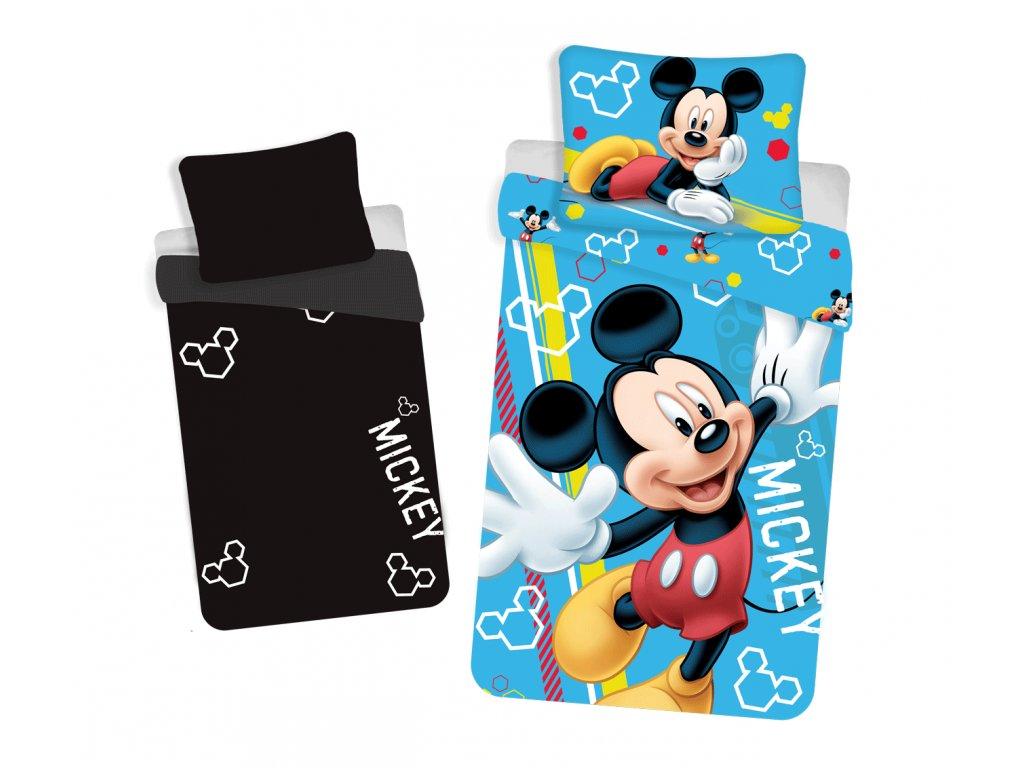 Licenční povlečení Mickey se svítícím efektem 140x200+70x90