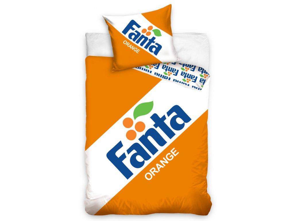 11849 bavlnene povleceni 140x200 70x90 cm fanta clasic logo