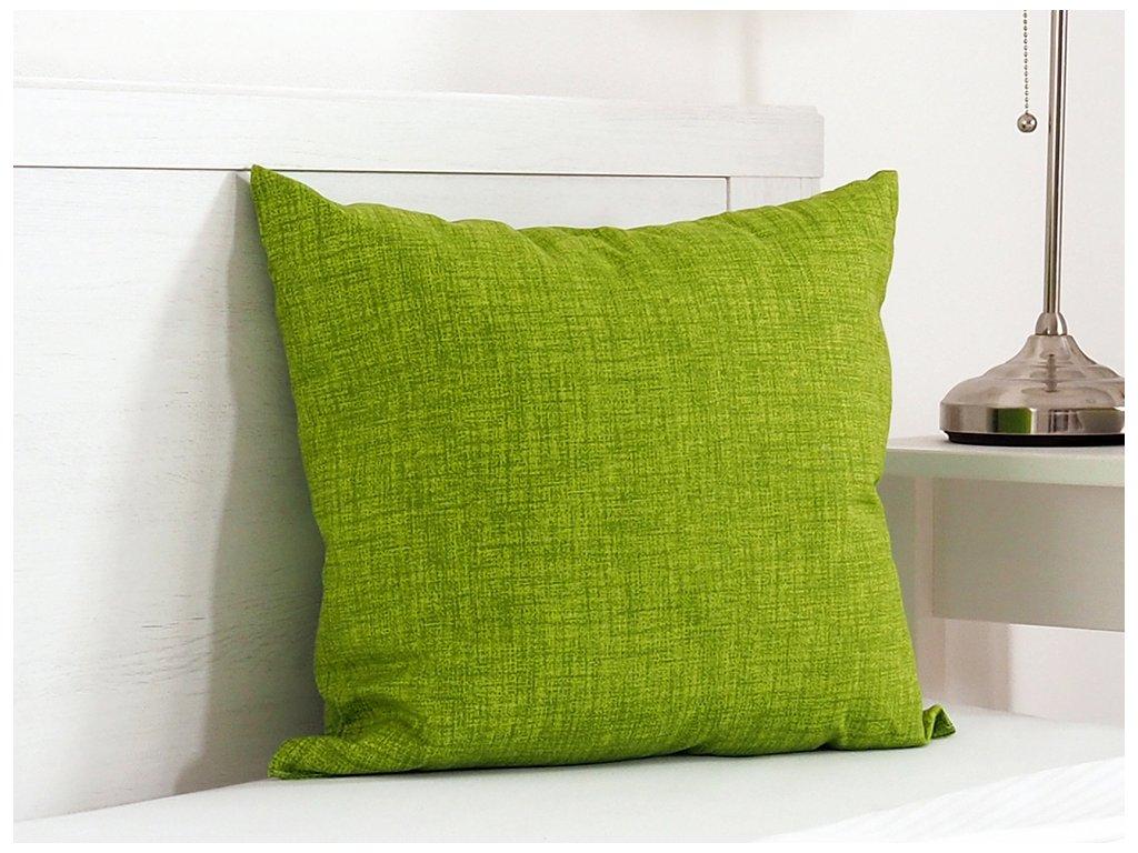 Dekorační polštářek 45x45 - green