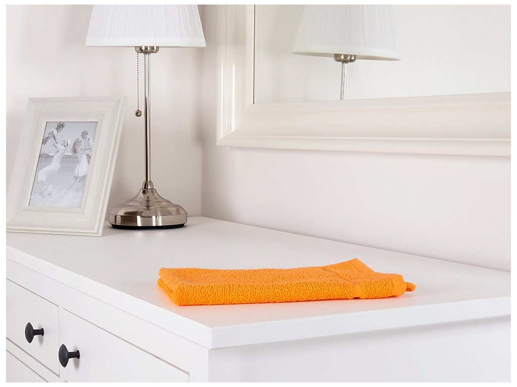 Ručník malý froté oranžový 30x50 Classic (450g/m2)