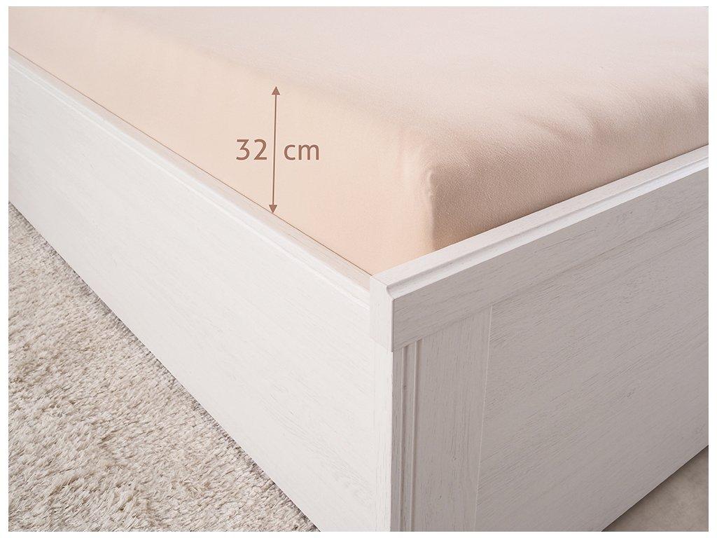 14522 prosteradlo jersey luxus merunkova 90x200 cm 180g m2