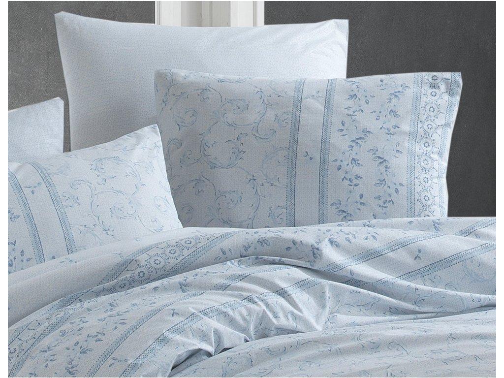 32705 1 bavlnene povleceni ivy modre bedtex detail