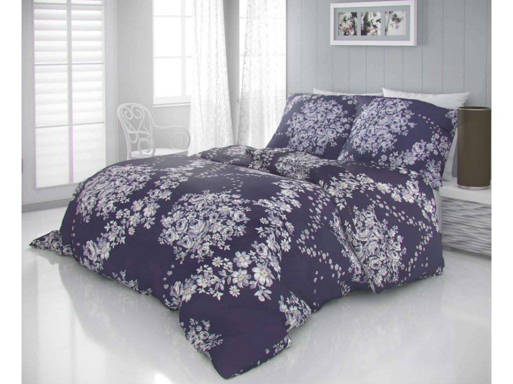 satenove povleceni luxury collection 140x200 70x90cm melrose fialove 795816 0