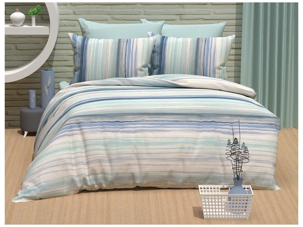 30011 bavlnene povleceni gradient modre bedtex