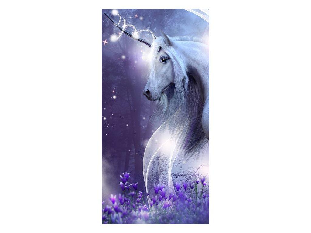 15396 bavlnena frote osuska 70x140 cm jednorozec unicorn 02