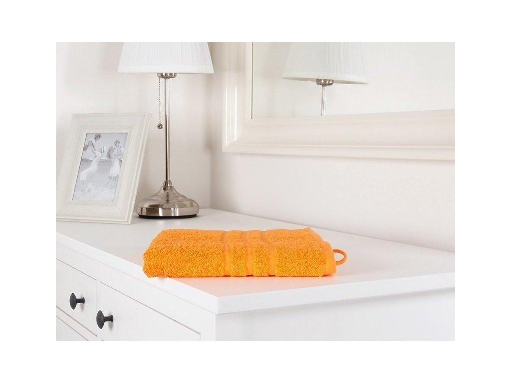 Ručník froté oranžový Classic 50x100 (450g/m2)