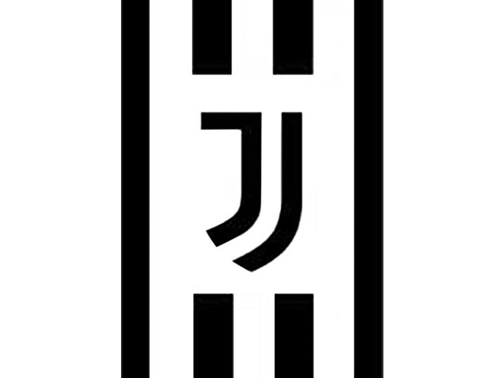 Deka fleecová 150x200 cm - Juventus FC Black and White