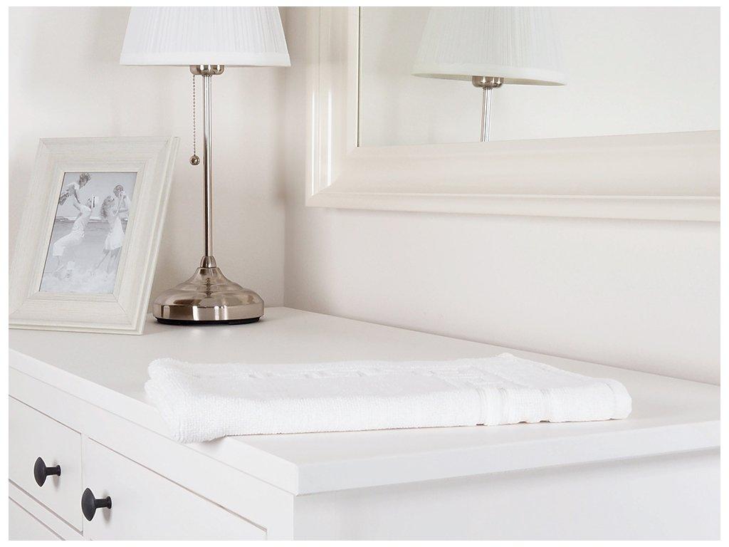 Koupelnová předložka Hotel Greek bílá 40x70 cm