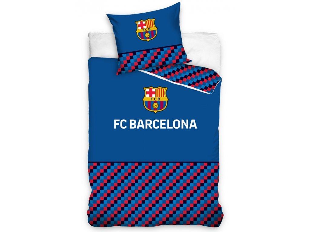 31934 fotbalove povleceni fc barcelona half of cubes