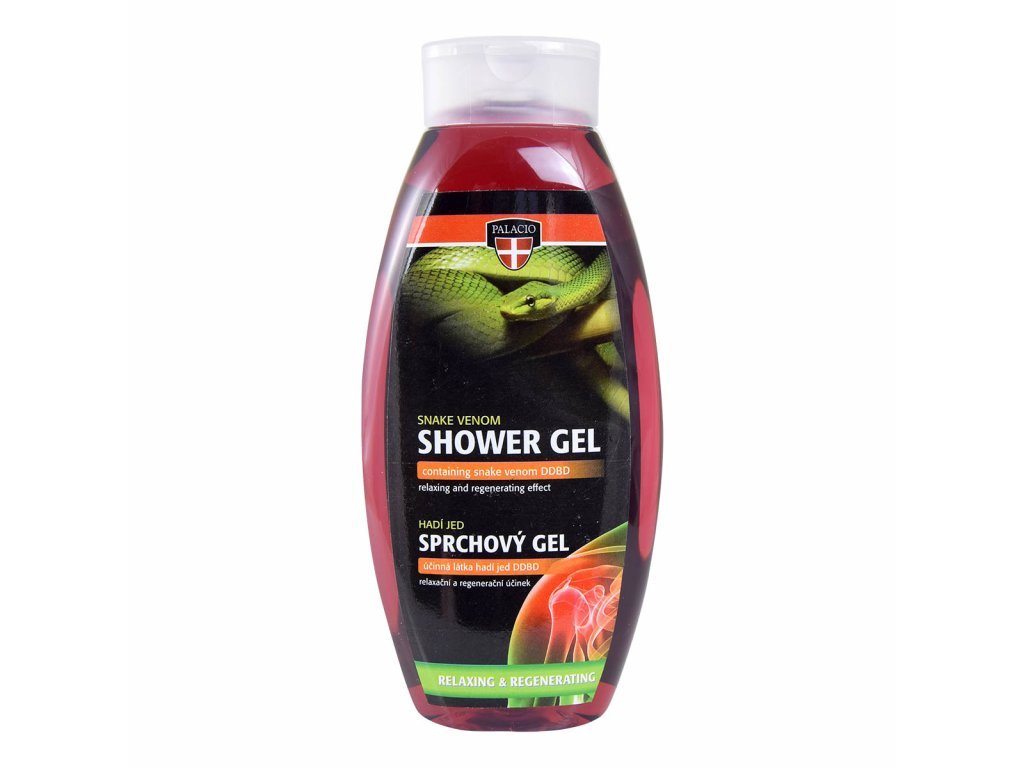 Hadí jed gel sprch, 500ml, P0915, WEB