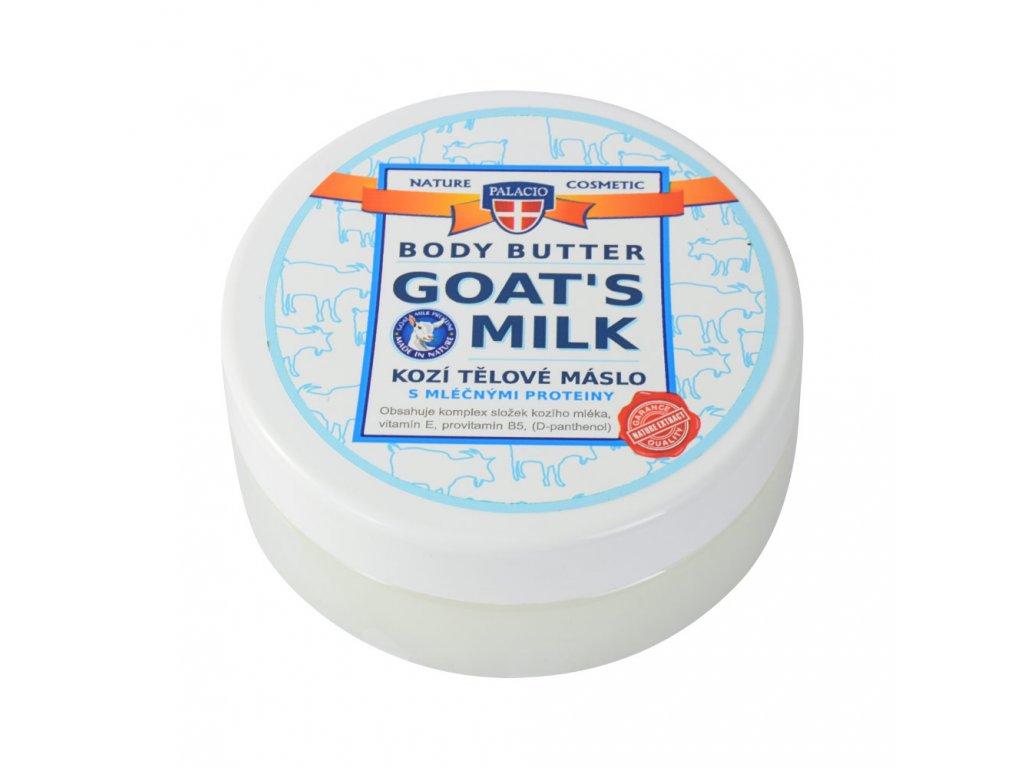 Kozí mléko máslo tělové, 200ml, P0839, WEB
