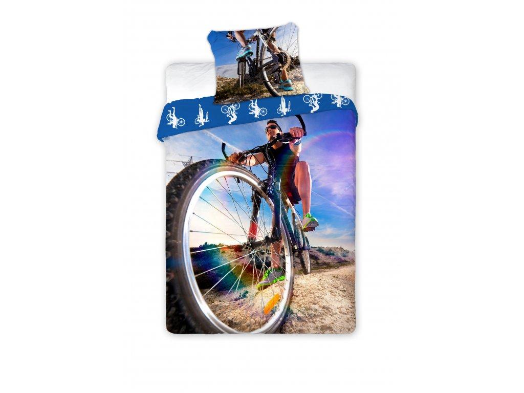 Povlečení BAVLNA Fototisk 140x200 - Cyklista