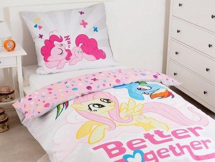 Dětské bavlněné povlečení 140x200+70x80 - My Little Pony MLP 42