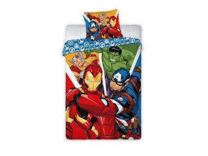 Pościel 140x200+70x90 Avengers 019 EAN 5907750556977